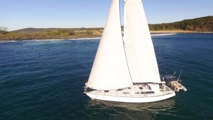 Dawn Patrol – Adams Carina 44' sailing yacht Iluka Clarence Valley Preview