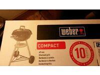 New Weber Kettle BBQ 47cm