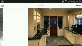 Solid Wood kitchen units and equipment