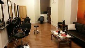 HAIR AND BEAUTY BUSINESS FOR SALE SALFORD WEASTE