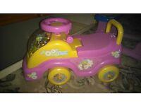 FI FI musical walk/sit/ride baby walker ex con