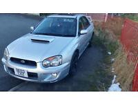 Subaru impreza wrx 2.0 Turbo £2750 no offers