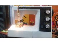 toyota 9400 heavy duty sewing machine in case