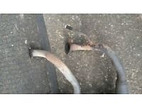 2 x moped exhaust one £25 and other one £30