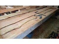 Larch Cladding. Cut through and through . aprx 5 meter long can cut and deliver . from £7-£10 per m