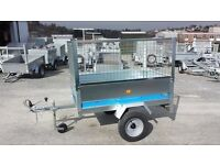 SALE PRICE £599. 5x3 MAYPOLE GALVANISED TRAILER WITH MESHSIDES