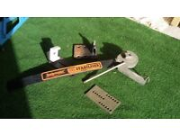Snakemaster quick release stabiliser complete car to caravan/trailer. Ready to use. Good condition.