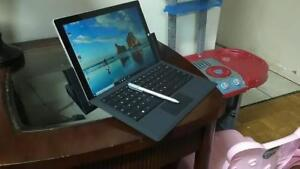 """Microsoft Surface Pro 3 Core i5 Pen Docking Station and Keyboard 128GB SSD Storage 4 gig Ram 12"""" Screen $450 only"""