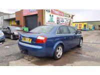 *BARGAIN* AUDI A4 1.9 TDI QUATTRO SE (2004) - 6 SPEED - NEW MOT - SOLID CAR - 2 KEYS - HPI CLEAR!