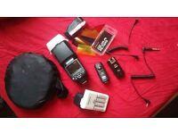 Flash photography bundle URGENT NEED GONE
