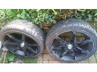 17 inch bsa racing wheels 4x100/4x108