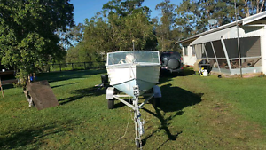 Boat and trailer Beerwah Caloundra Area Preview