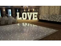 Giant LED light up LOVE letters 5ft and numbers for weddings, engagements and much more.
