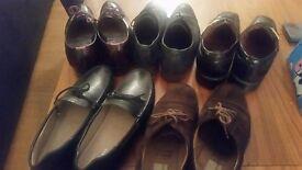 5 Pairs of Cheap Durable Designer UK 8 Men's shoe: Russel & Bromley, Zara, Ted Baker & Moreschi
