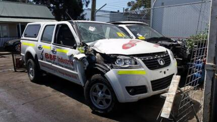 WRECKING 2014 Great Wall V200 K2 Dual cab Ute very low kms Botany Botany Bay Area Preview