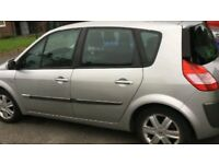 2005 RENAULT SCENIC 1.9DCI 6 SPEED SILVER 90K LONG MOT HPI CLEAR SOLID FAMILY MPV £695
