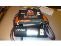 Magnum+Plus 302 U Lock Ultra Secure Cycle/ Utility Lock System 120cm X 10 mm