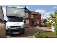 Short Notice House Removals & Man with a Van in Nottingham, Packing Service Boxes, Fully Insured N