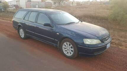2002 Ford Falcon BA Station Wagon