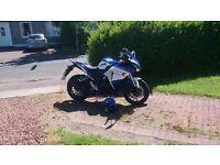 WK SP 125cc Learner legal big sized sport bike with big tyres