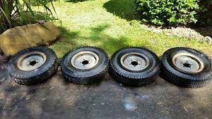 Split rims & tyres for sale Bogangar Tweed Heads Area Preview