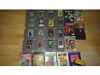 RETRO GAMING HUGE BUNDLE OF NINTENDO NES GAMES