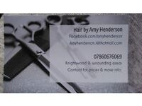 MOBILE HAIRDRESSER GLASGOW BASED
