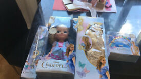 NEW Cinderella Doll with accessories