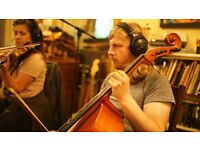 cello/strings available for your music