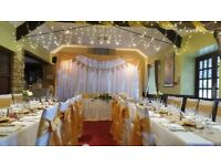 Creative Events. Venue decorations and music