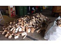 Kiln dried Hardwood Cage of logs