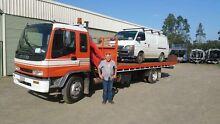 Tilt tray.   Tow truck  hiab truck Kurri Kurri Cessnock Area Preview