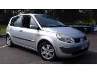 2005 RENAULT SCENIC 1.6 LONG MOT APRIL 2018