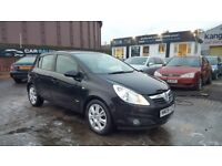 **ONLY 59,000 MILES** VAUXHALL CORSA DESIGN 1.2 (2008) - 5 DOOR - CLEAN CONDITION - HPI CLEAR!