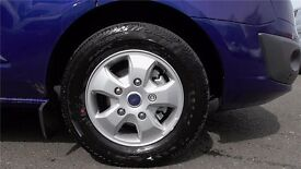 4 X NEW FORD TRANSIT CUSTOM LIMITED ALLOY WHEELS AND NEW CONTINENTAL TYRES