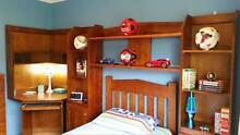 Kids Bedroom Suite - single bed, desk/hutch, wall combo & drawers Erskine Park Penrith Area Preview