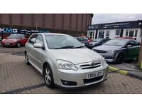 TOYOTA COROLLA 1.4 VVTi T3(2004) - 5 DOOR HATCH - NEW MOT - NEW CLUTCH - 2 KEYS - HPI CLEAR!