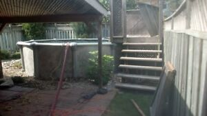 Above Ground Pool Removal Service