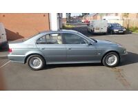 bmw 525i se auto (spares or repairs) please read RUNNER