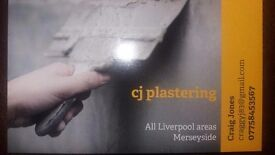 Plasterer all areas of liverpool