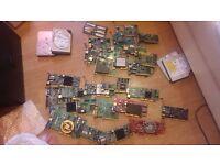 job lot of computer parts