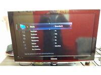 Samsung flatscreen Tv 32 inch hd ready - can deliver