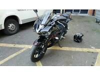 **Reduced** Yamaha R3 **akrapovic, tail tidy, crash bobbins, heated grips and private plate R3 FKD