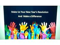 Make just one New Years Resolution, Make it with us!