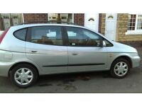 Aug mot, very nice car, brilliant engine, stereo, fold down seats, capt seat arm rest, tray tables