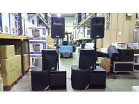 FBT Evo2MaxX 4a + Subline 15SA Sound System - 2200w