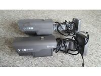 Used Genie CCTV ZD2812IR/ACW True Day/night camera and older model Genie camera £50 ONO