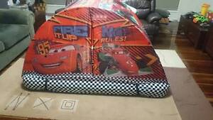 Cars (Lightning McQueen) Bed Tent and fitted sheet with box Mango Hill Pine Rivers Area Preview