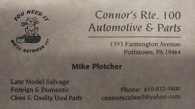 Connors Pottstown Automotive