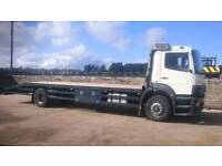Mercedes flat bed/beavertail lorry